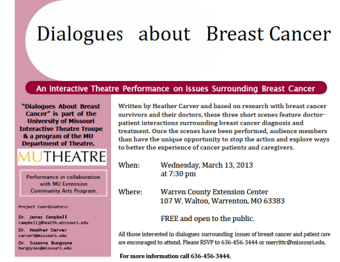 Learn more about breast cancer at this Susan G. Komen-sponsored event